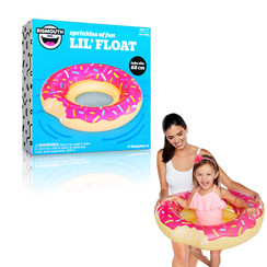 Opblaasbare Badring Donut Donut PINK 68cm