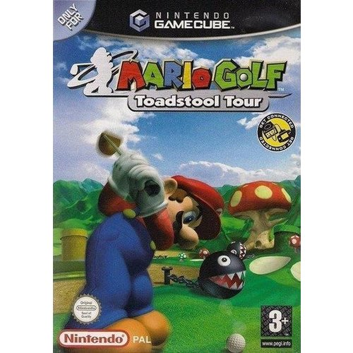 nintendo gamecube Mario Golf: Toadstool Tour