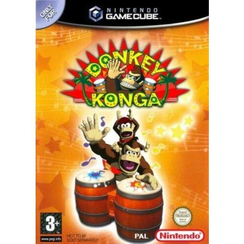 nintendo gamecube Donkey Konga - Nintendo GameCube1