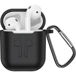 HOCO ES32 Plus - Volledig Draadloze Oordopjes - Met Oplaadcase en Zwart Siliconen Beschermhoesje - Geschikt voor alle Bluetooth Smartphones zoals Apple iPhone en Android - Wit