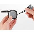 Hoco Hoco intrekbare kabel Lightning - Laden en data overdracht incl. travel case (90cm)