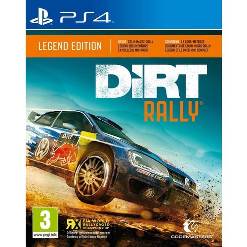 playstation Dirt Rally Legend Edition