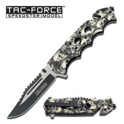 TAC FORCE GREY SKULL