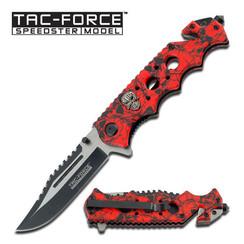 TAC FORCE RED SKULL