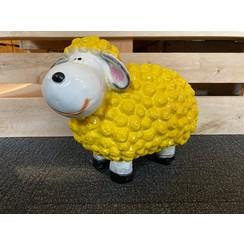 Trendy schaap - geel