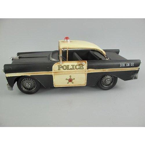 Politie auto amerikaans - blik
