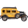 """Klassieke blikken auto taxi """"Yellow Cab"""" - jaren 30 - blik"""