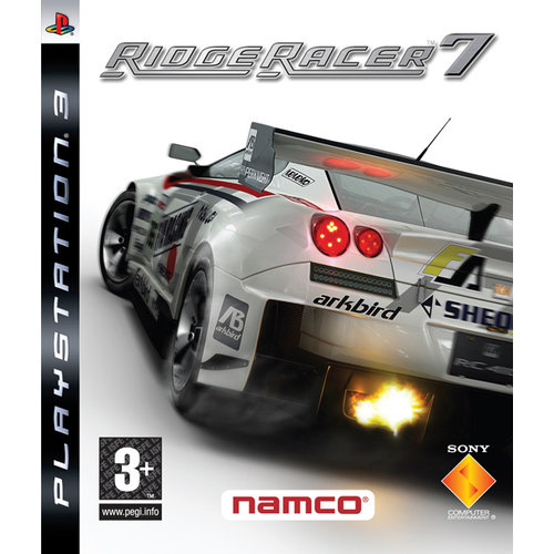 playstation Ridge Racer 7
