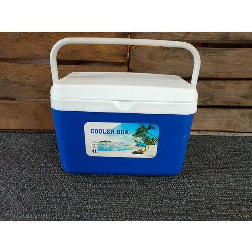 Coolbox 4 liter - Blauw