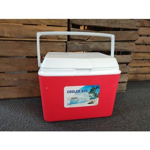 Coolbox 20 liter - Rood