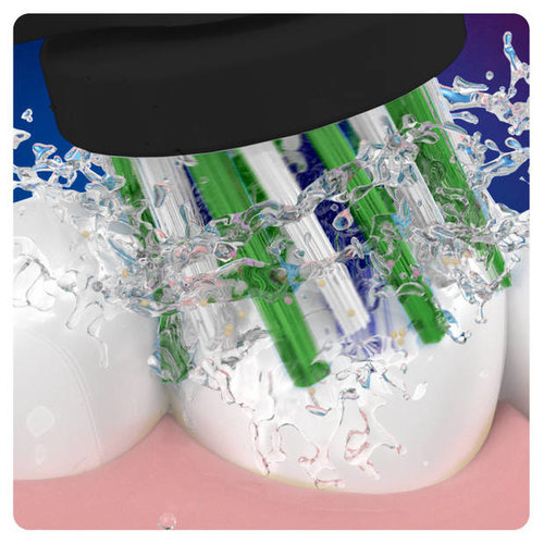 oral b Oral-B opzetborstels Cross Action Black - 5 stuks