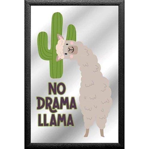 nostalgic art Spiegel No Drama Lama