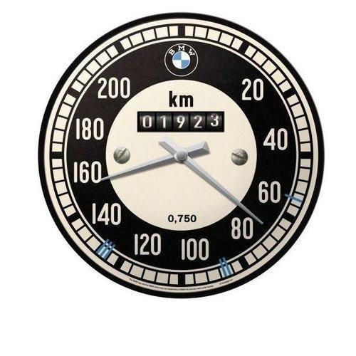nostalgic art Nostalgic Art Wandklok 30 cm BMW Tachometer