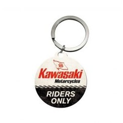 Kawasaki Riders Only Sleutelhanger