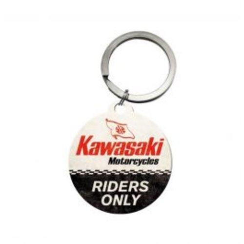 nostalgic art Kawasaki Riders Only Sleutelhanger