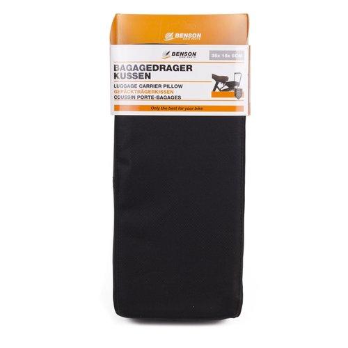 benson Benson Bagagedragerkussen Zwart - 32 cm