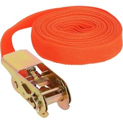 Benson Oranje Spanband met Ratel – 7.5 meter