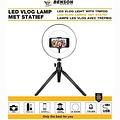 benson Benson Halo/Ring LED Lamp Rond - 20 cm Diameter - Met Statief