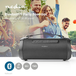 Party Boombox | Tot 6 Uur | 1 | 30 W