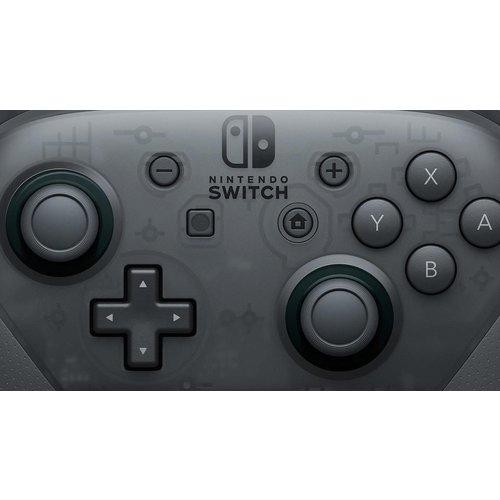 Nintendo Switch Nintendo Pro Controller - Zwart - Switch - doos ontbreekt