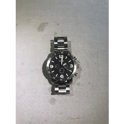 Fossil JR1353 - Horloge - 50 mm - Zilverkleurig
