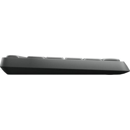 logitech Logitech MK235 - Draadloos Toetsenbord en Muis - Qwerty - Donkergrijs