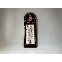Thermometer Lethal threat motor sport - retro look