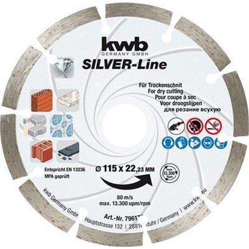 KWB Kraftixx Diamantschijf - 125 mm 7965-70