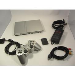 PlayStation 2 Console Zilver