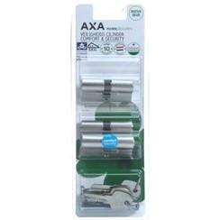 AXA profielcilinder SKG2 Comfort verlengd 30-30 4st.