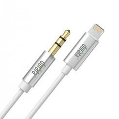 Durata Audio Kabel - Apple Lightning naar Aux 3.5mm Jack (Wit) (1m)