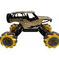 steelcavalry SteelCavalry - Stunt auto - Radiografisch Bestuurbare Auto - Voor Binnen en Buiten - Goud - Model 2021 - Schaal 1:16