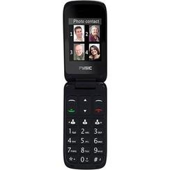 Fysic FM-9760ZT Mobiele klaptelefoon - Geschikt voor hoortoestellen (M3/T4) - Zwart