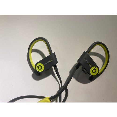 beats Beats Powerbeats2 grijs lime