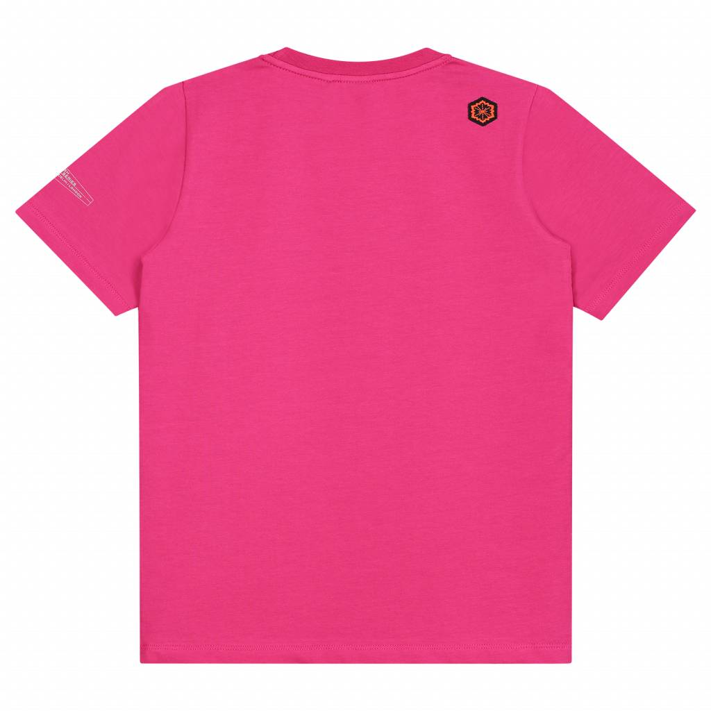 T-shirt -  Hockey KIDS - Fuchsia