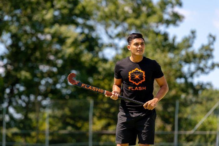 T-shirt - Hockey Heren - Zwart