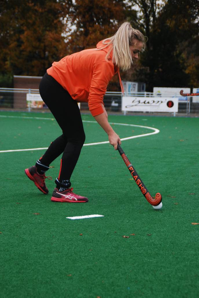 Hoodie - Hockey  Dames - Oranje