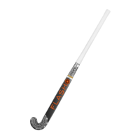 Junior Field Hockeystick - Black Orange