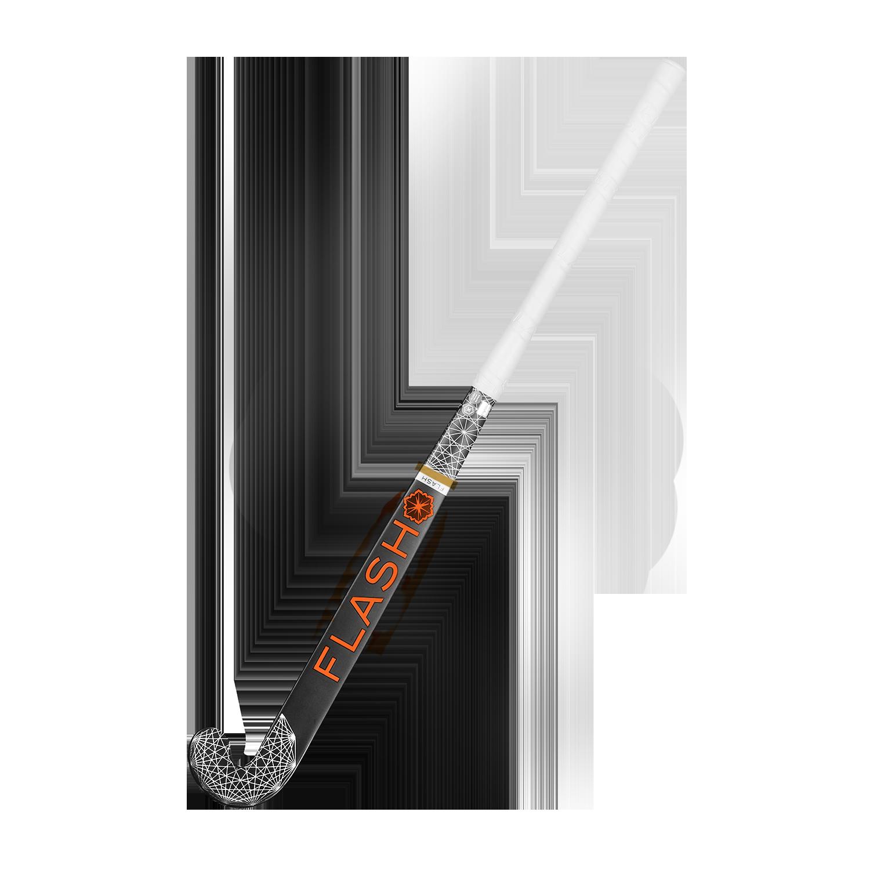 Junior hockeystick  Heart Zwart Oranje
