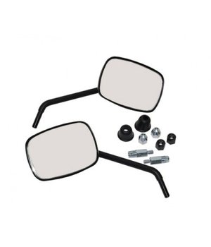 Spiegelset Vespa S mat zwart Origineel model