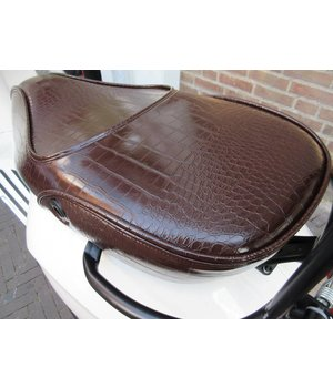 Vespa Sprint zadel buddyseat choco brown