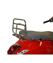 Achterklapdrager chroom (origineel model) Vespa Primavera / Sprint