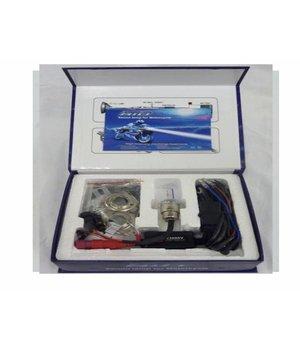 12V 25watt Xenon kit 8000K blauw DC
