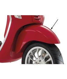 Voorspatbord vespa primavera rood dragon 894 piaggio origineel 1b000947000r7
