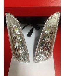 LED knipperlichtset voorkant met LED dagrijverlichting Vespa Primavera / Sprint