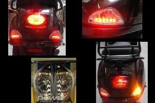 LED achter knipperlichten Audi Look