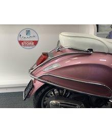 Valbeugel Origineel Vespa Primavera / Sprint chroom (origineel) achterkant