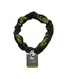 slot ketting + hangslot art 3-sterren 120cm zwart/ groen luma escudo 38 chain