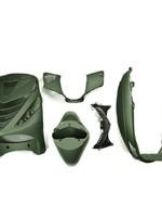 Kappenset zip 2000 mat groen front cover van zip sp c25
