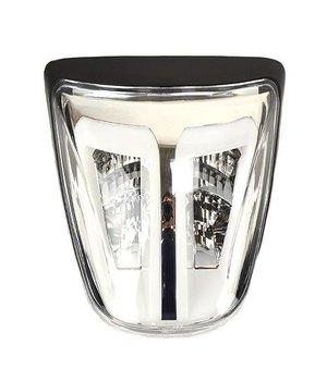 Led Achterlicht Helder met mat zwarte rand Vespa Sprint & Primavera